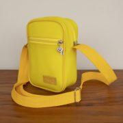 Shoulder bag personalizada amarela KSHO100
