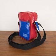 Shoulder bag personalizada vermelho e azul KSHO100